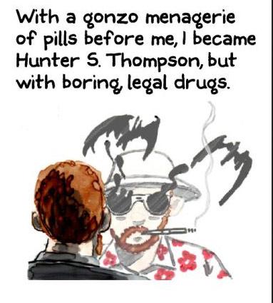 HunterSThompsonPANEL