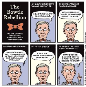 George Will's Bowtie Rebellion