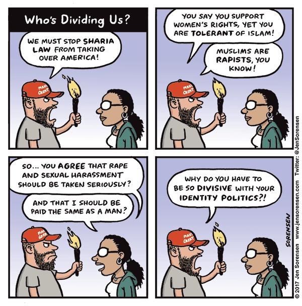 Who's dividing us?