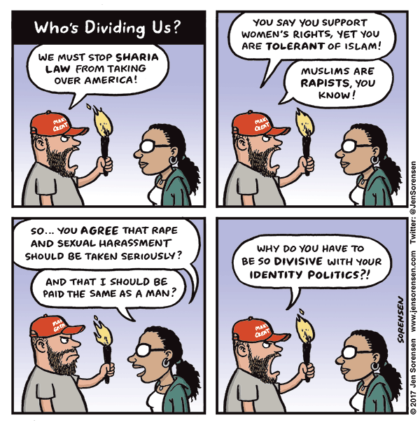 Who's dividing us?