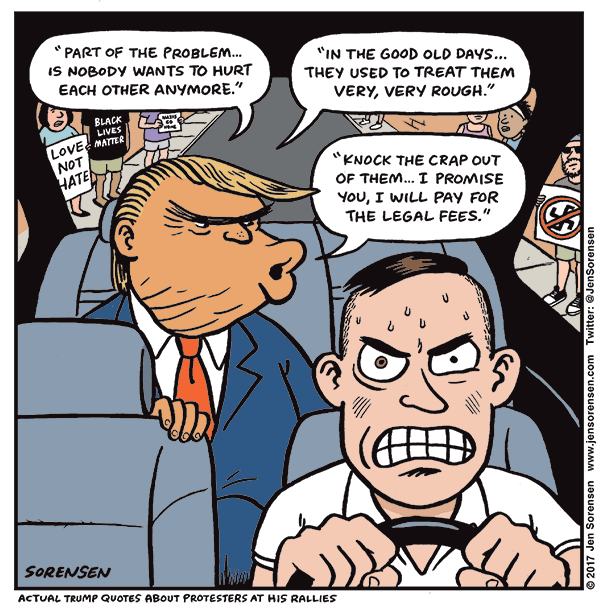 Backseat driver in Charlottesville