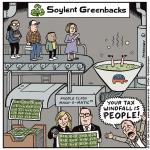 The Republican tax bill is Soylent Greenbacks