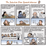 The Selective Free Speech Warrior