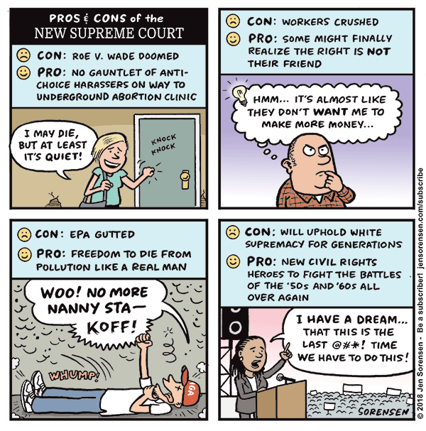 Pros and Cons of the New Supreme Court
