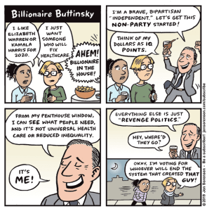 Billionaire Buttinsky