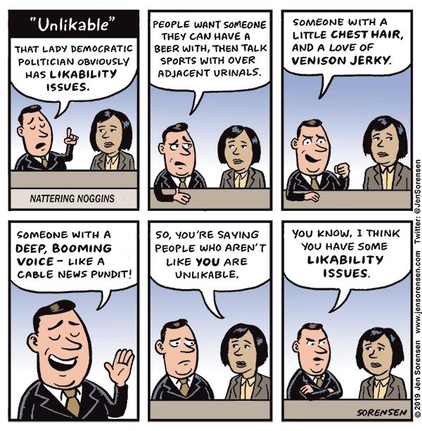On the 'Unlikability' of Female Candidates