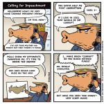 Cartoon: Calling for Impeachment