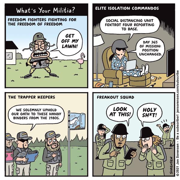 What's Your Militia?