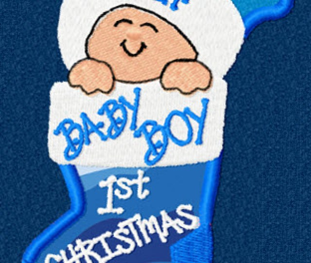 The First Christmas Ornament Design Comes With Dates From  It Also Includes Both Baby Boy And Baby Girl Phrases But May Be Personalized
