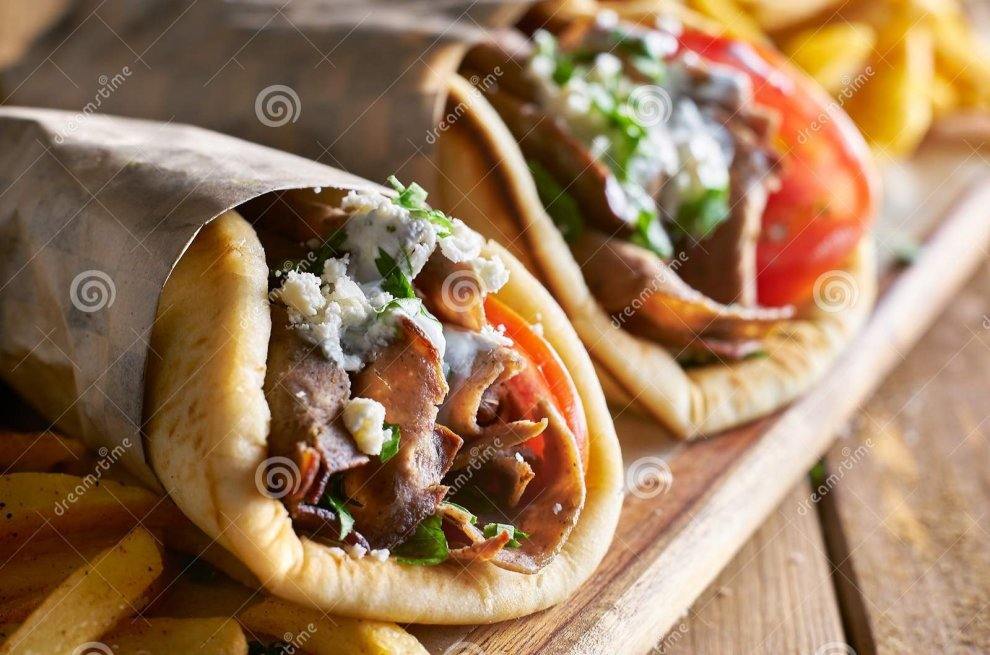 Authentic Greek Gyros