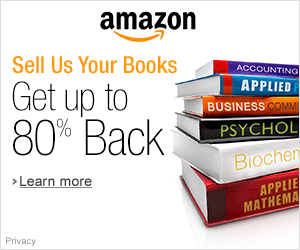 Shop Amazon - Textbook Trade-In - Get Up to 80% Back