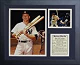 "Legends Never Die Mickey Mantle - New York Yankee Batting Legend Collectible | Framed Photo Collage Wall Art Decor - 12""x15""  by Legends Never Die"