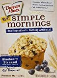 Duncan Hines Simple Mornings Muffin Mix - Blueberry Streusel - 20.5 oz - 2 Pack  by Duncan Hines