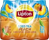 Lipton Iced Tea, Peach (12 Count, 16.9 Fl Oz Each)  by Lipton