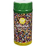 Wilton 710-4065 Rainbow Nonpareils Food Decorative, 7.5-Ounce  by Wilton