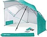Sport-Brella Vented SPF 50+ Sun and Rain Canopy Umbrella for Beach and Sports Events (8-Foot)  Visit the Sport-Brella Store