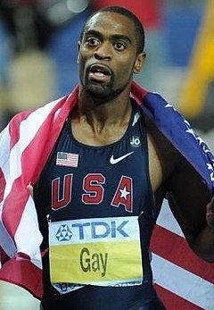 Tyson Gay - Olympian