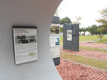 Jurong Heritage trail display