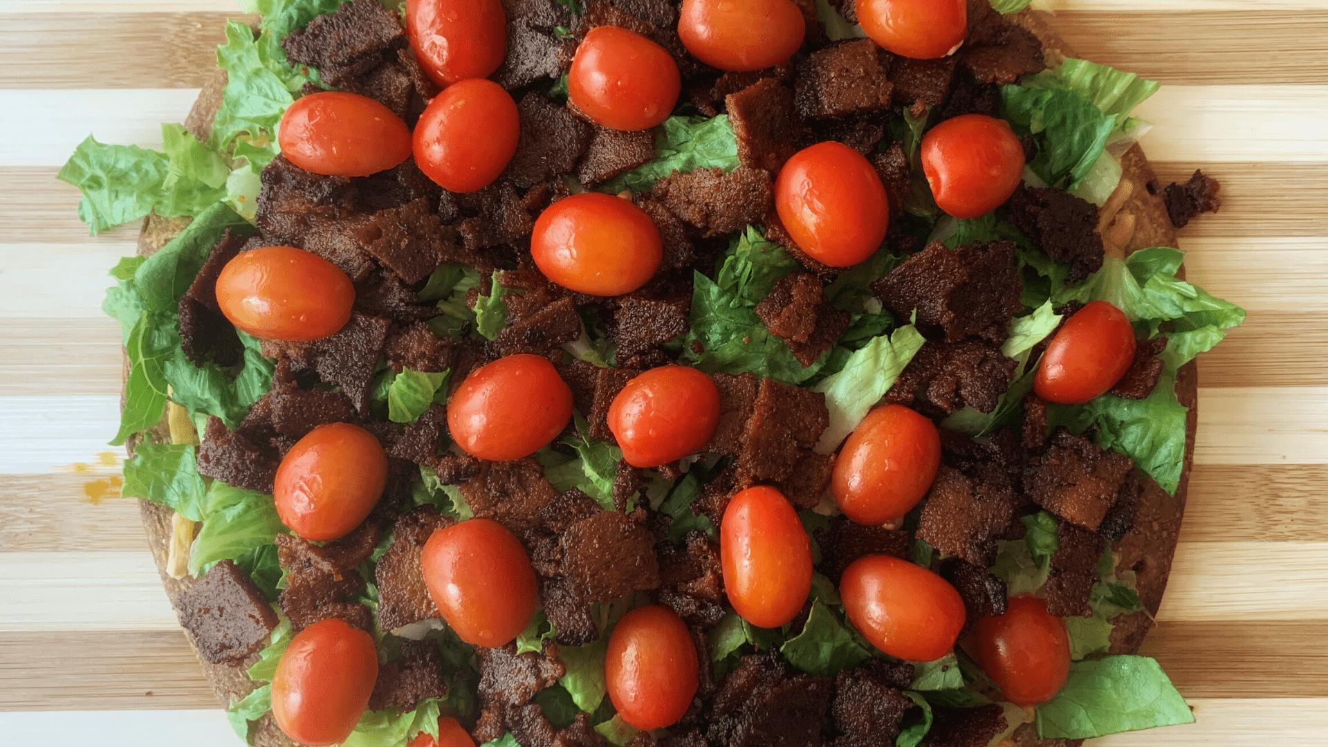 Tomato BLT Pizza