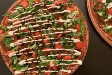 Vegan BLT Pizza