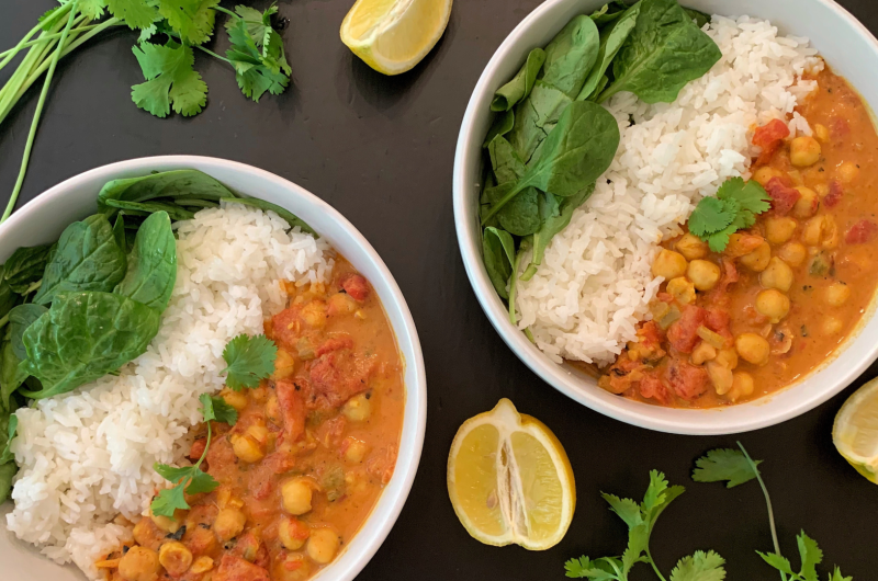 Vegan Chana Masala (Easy)