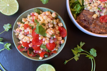 Jen's Vegan Eats - Corn & Tomato Salsa
