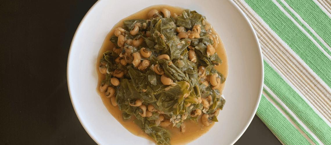Braised Beans & Greens