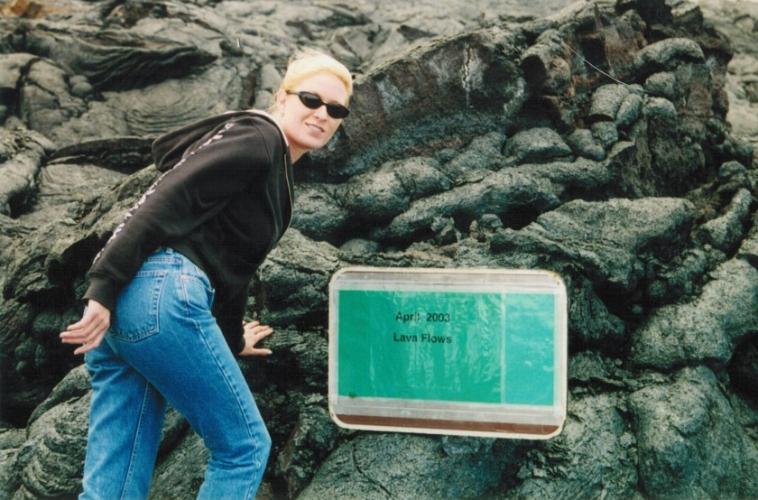 Exploring the Lava Flows on the big Island of Hawaii