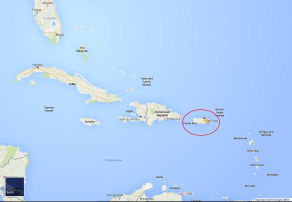 Google Map Caribbean PR