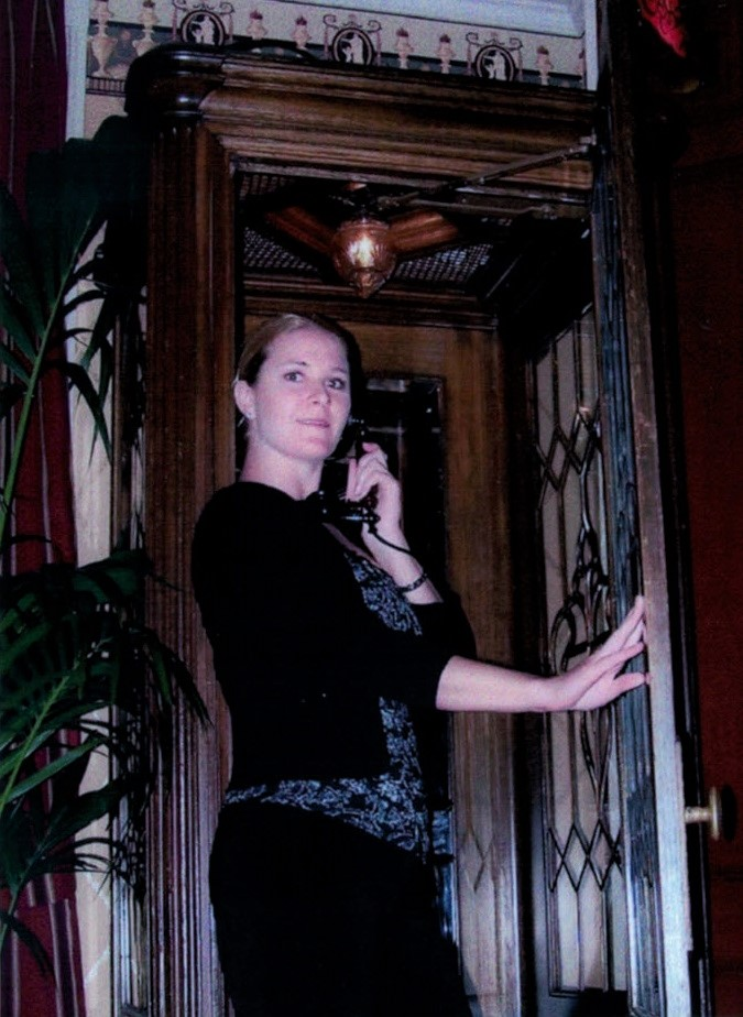 2006 - Decorative Disney Phone Booth at Club 33 in DisneyLand