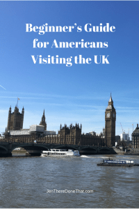 Beginner's Guide Americans Visiting the UK