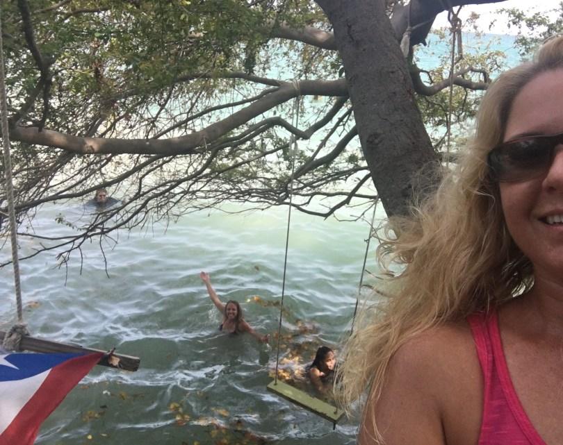Ceiba Swings selfie
