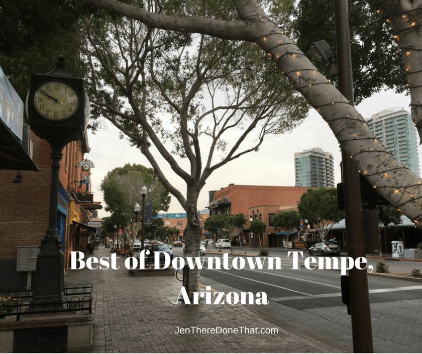 Best of Downtown Tempe AZ