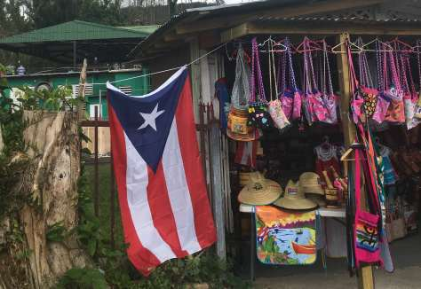 Crochet bags and more in Guavate, Puerto Rico