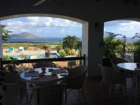 Bella Vista at Mount Nevis Hotel Breakfast view