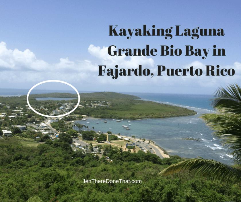 Kayaking Laguna Grande Bio Bay in Fajardo, Puerto Rico