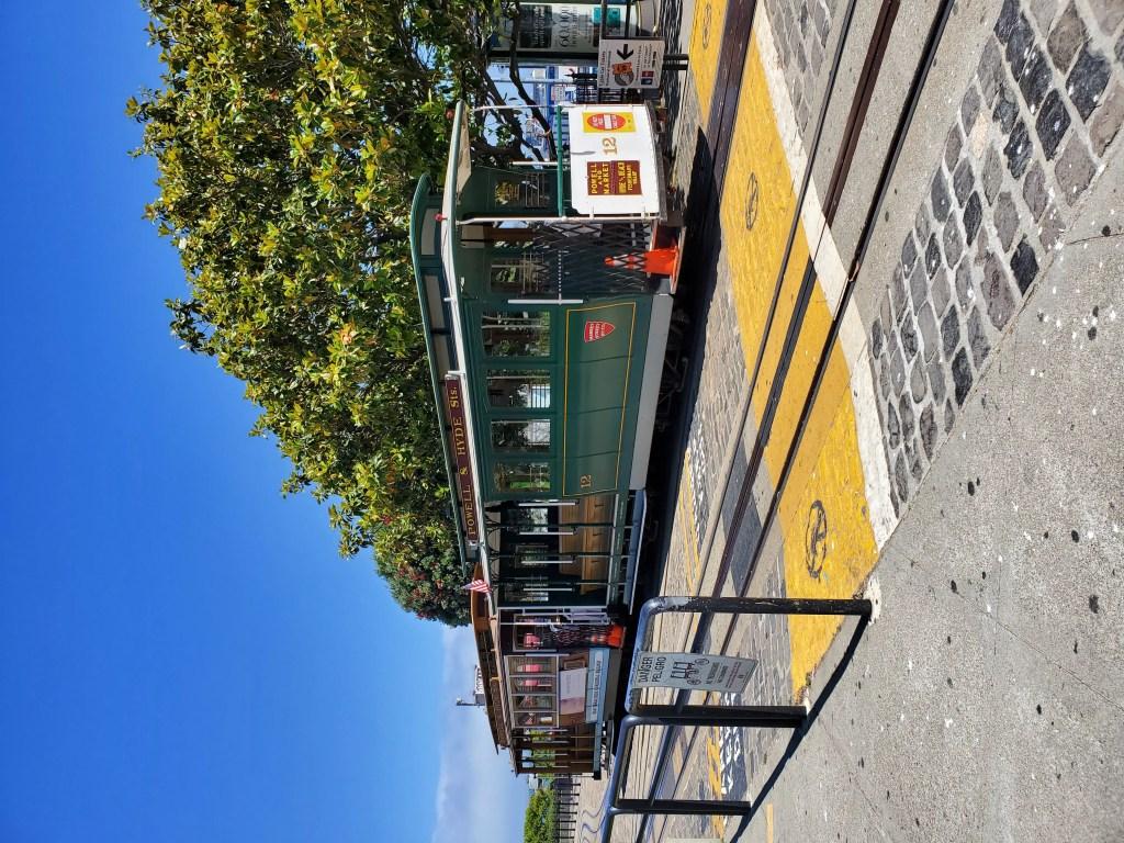 Cable Car near Fisherman's Wharf