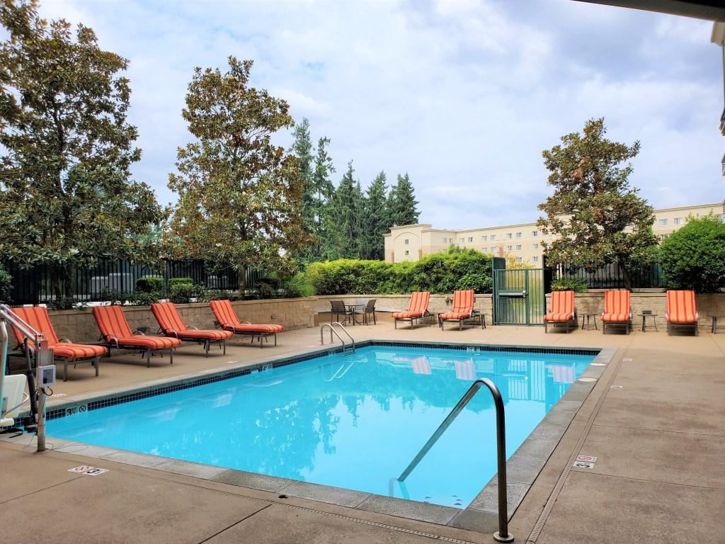 Pool at Seattle Marriott Redmond