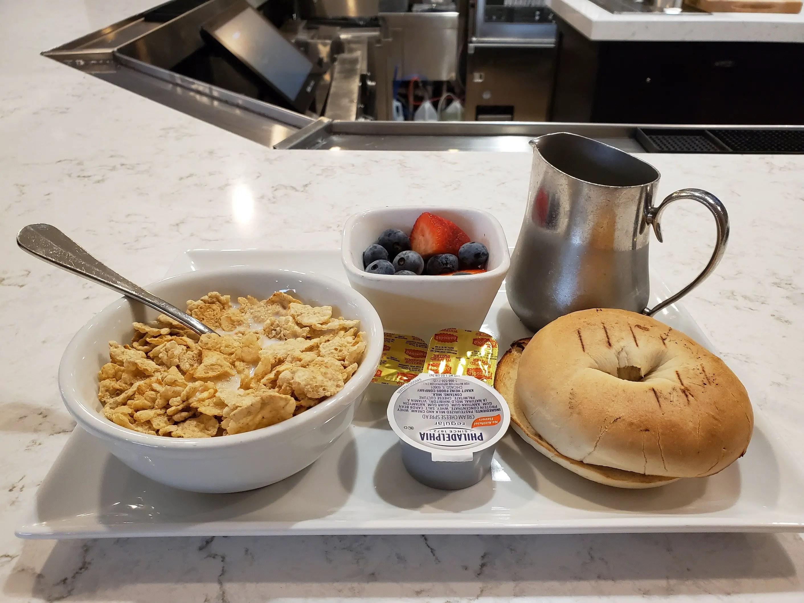 Breakfast at Seattle Marriott Redmond
