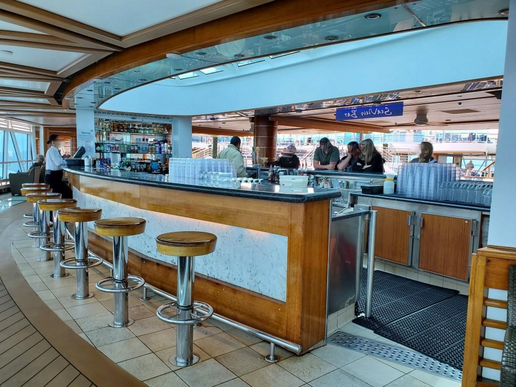 Sea View Bar on Royal Princess