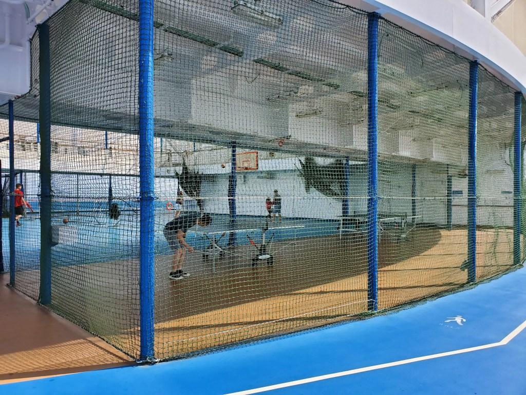 Sports Court on Royal Princess