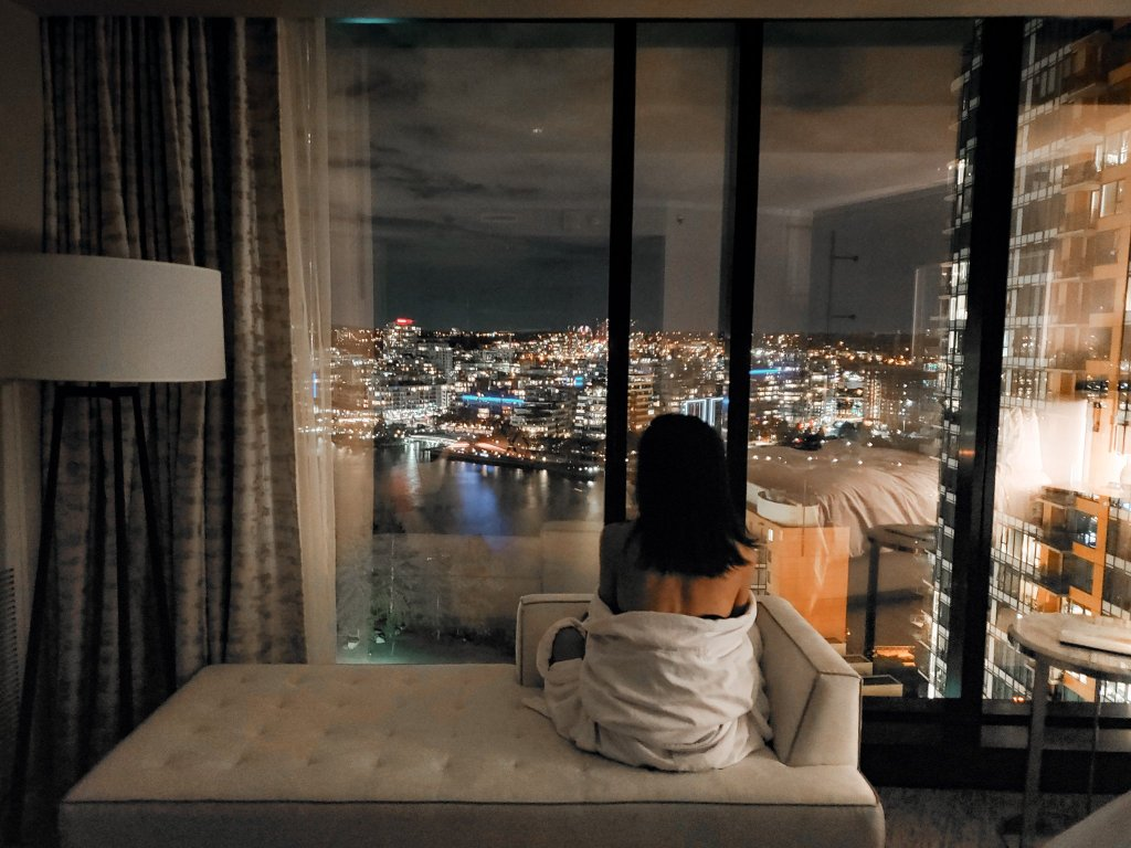 King Room Water View at JW Marriott Parq