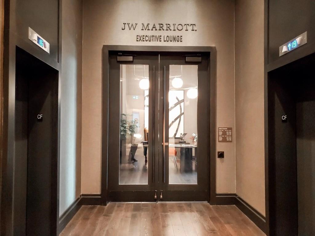 Executive Lounge at JW Marriott Parq