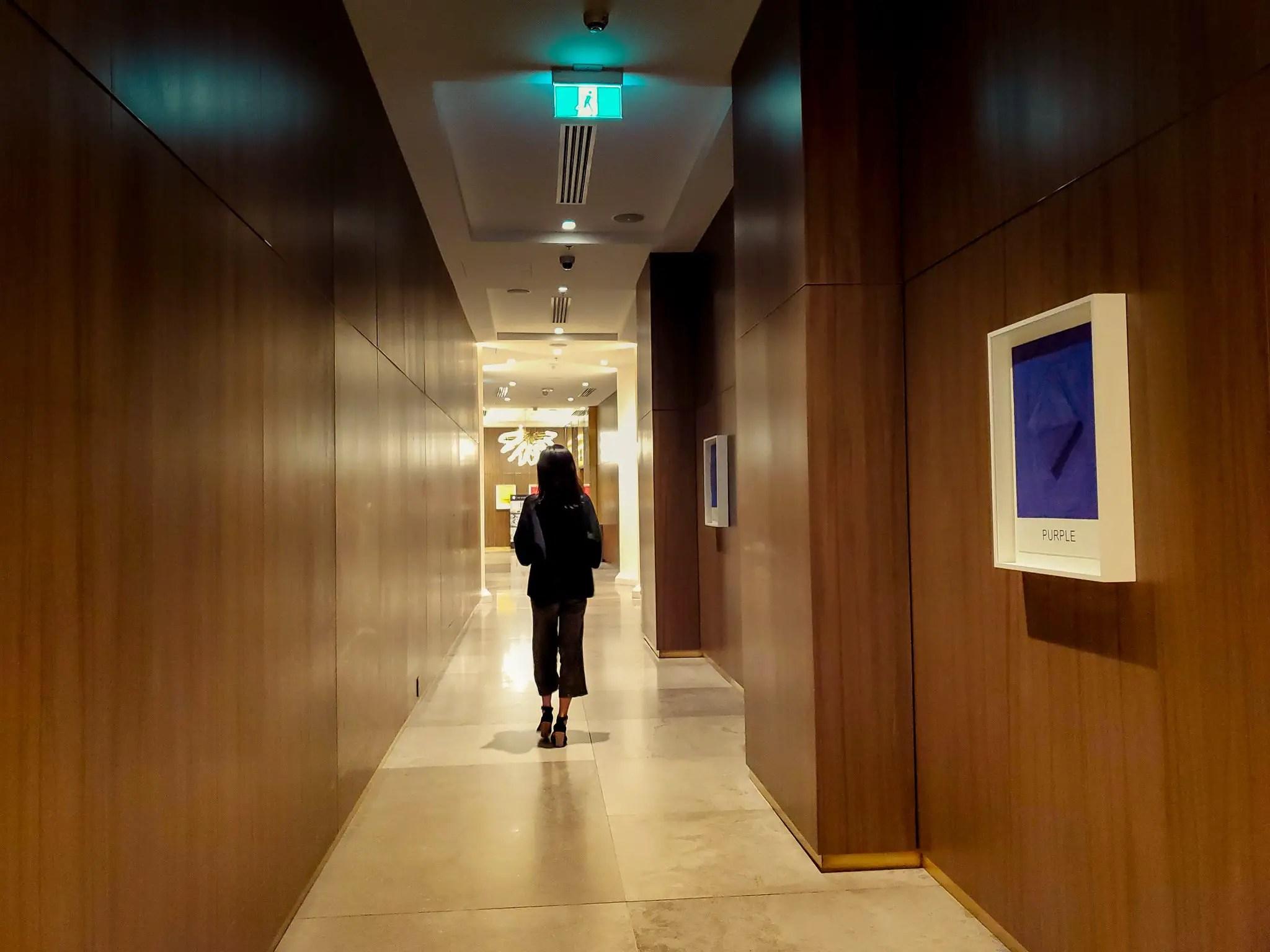 Lobby at JW Marriott Parq