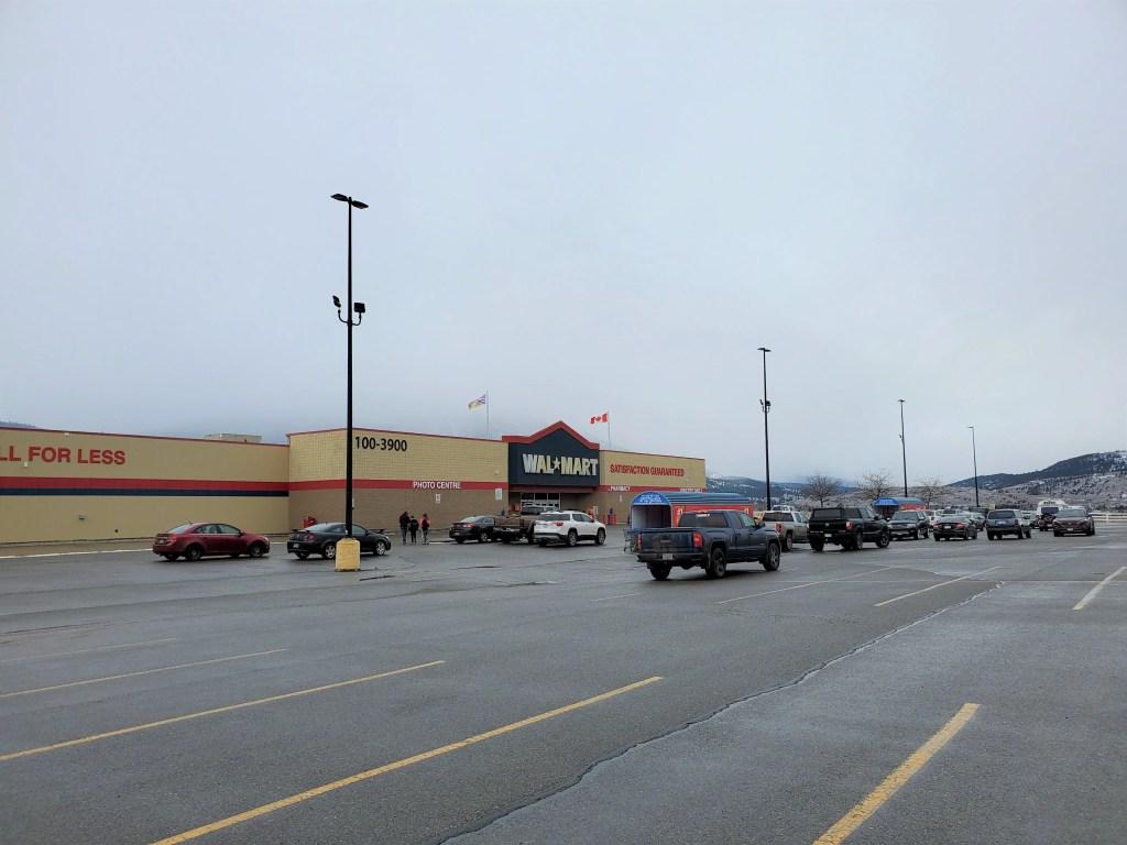 Walmart in Merritt, BC