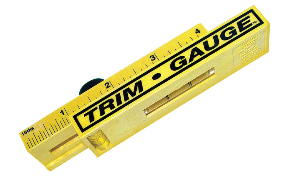 Designed to set the spacing between the trim and the door frame for less than $30 you can keep all of your trim jobs spot on. Get yours at the Trim Guage™ ...  sc 1 st  JenTra Tools & 5 Cool Tools that can help with your next Door Installation.