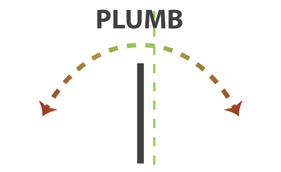 If a door or window is installed out of PLUMB it will cause a host of issues sagging open in the corner unwanted opening or closing doors ...  sc 1 st  JenTra Tools & LEVEL PLUMB SQUARE TRUE. What do they really mean and why you should ...