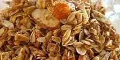 Homemade Granola Recipe-Baked Peach Vanilla, Cinnamon & Almond - Jenuine Nutrition