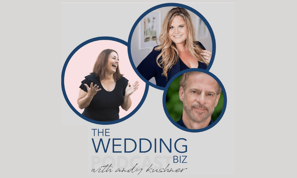 Featured on the The Wedding Biz Podcast