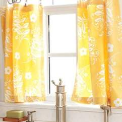Kitchen Curtain Patterns Cabinets Las Vegas Cute Diy Cafe Curtains